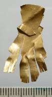 Фигура из золотого листа, находка января 2012 г.