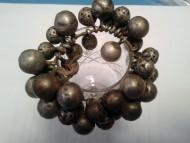 Серебряный браслет или накосник XVI-XVII век