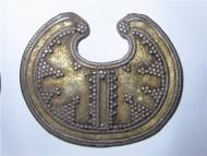 булгарская лунница, украшеная зернью
