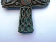 Крестовидная скифская бляха VI-V в.в. до н.э.