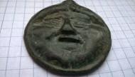 Медуза-Горгона без языка. Ольвия. V век до н.э.