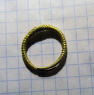 Золотое кольцо с узором, Гава-Голиградская культура