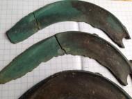 культура Ноуа, серпы Карпатского типа, 14-12 вв. до н.э.