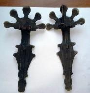 Фибулы пятипалые парные. Пеньковская культура вторая половина 6-начало 7 века