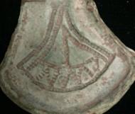 Формочка для изготовления амулета-топорика, возможно не древнерусская, а древнеримская