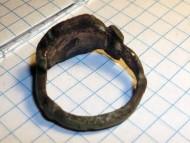 Древнерусский перстень с перегородчатыми эмалями на щитке