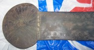 Крупное - 22 см. скифское зеркало, с солярными знаками, 4 век до н. э.