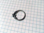Серебряное (височное?) кольцо, Черняховсквя Культура
