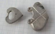 Серебряные накладки с поясного набора Салтово-маяцкая культура