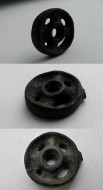 Солярный, колесообразный амулет
