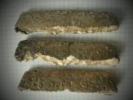Три татарские  ладьевидные гривны (волжский тип).
