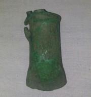 Бронзовый наконечник дротика Сосницкой культуры, позднего этапа