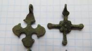 Крестики древнерусские бронзовые