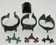 Комплекс украшений КК (3 браслета, 3 лунницы + колокольчик)