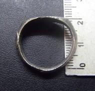 Золотоордынский серебряный перстень