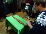 Славянскому краеведческому музею подарили уникальный скифский меч