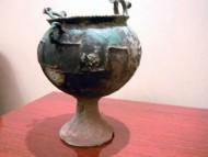 Сарматский бронзовый котелок
