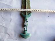 Рукоять меча позднего бронзового века