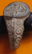 Орнаментированный средневековый перстень