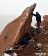 Место находки мумии на Алтае
