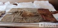 одежда из погребения в монгольском Алтае