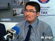 Руководитель культурного центра в Улан-Баторе Г.Энкхбат (G.Enkhbat)