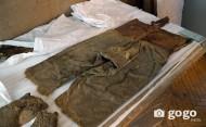 Монгольская средневековая шерстяная теплая одежда