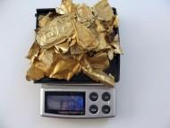 Древние золотые пластины с солярным орнаментом