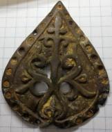 Дробница нашивка КР Процветший крест