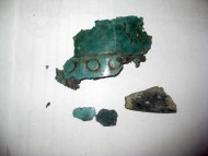 Древние бронзовые заклепки