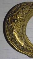 Золотые ладьевидные серьги с филлигранными пальметками, вторая четверть 4в. До н.э. Боспорское царство, Пантикапей