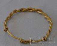 Витой золотой браслет Римского периода, 1-3 век н. э.