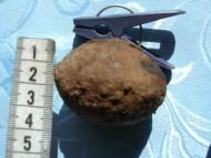 Булава в виде приплюснутого шара, накрытого шляпкой