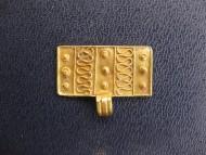 Золотая прямоугольна привеска, Черняховская культура