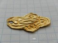 Золотая фольга (покрытие подвески)