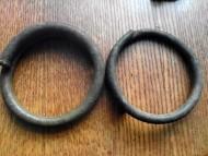 Массивные бронзовые браслеты Гальштатской культуры
