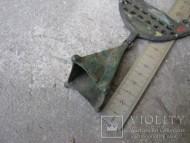 колокольчик от нагрудного украшения Киевской археологической культуры