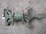 Фибула как деталь большого нагрудного украшения Киевской археологической культуры