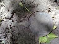 Находка скифского зеркала с рукоятью в зверином стиле