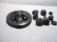 Киммерийский ременной распределитель и мелкие сбруйные бляшки