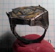 перстень с тамгой князя Изяслава Мстиславича, середина 12 века