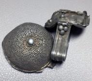 Серебряный перстень«Черепаха» периода Киевской Руси