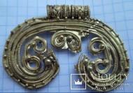 Большая золотая подвеска-лунница, Черняховская культура