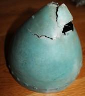 Бронзовый шлем раннего железного века