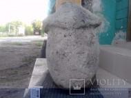 Голова половецкой бабы Часть каменного изваяния-голова