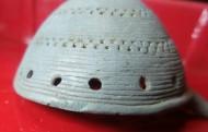 Брошь-булавка Чернолесской культуры, 7-5 века до н.э.