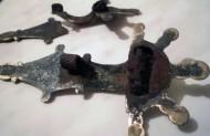 Тыльная частьфибул Пеньковской культуры, 5-7 век