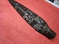 Наконечник копья, инкрустированный сарматскими тамгами, Черняховская культура
