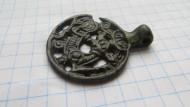 Древнерусский прорезной медальон Симург