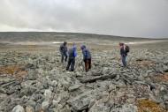 Поиск кладов в горах горах Норвегии
